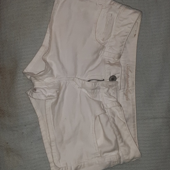 American Eagle Outfitters Pants - American eagle outfitters white denim shorts